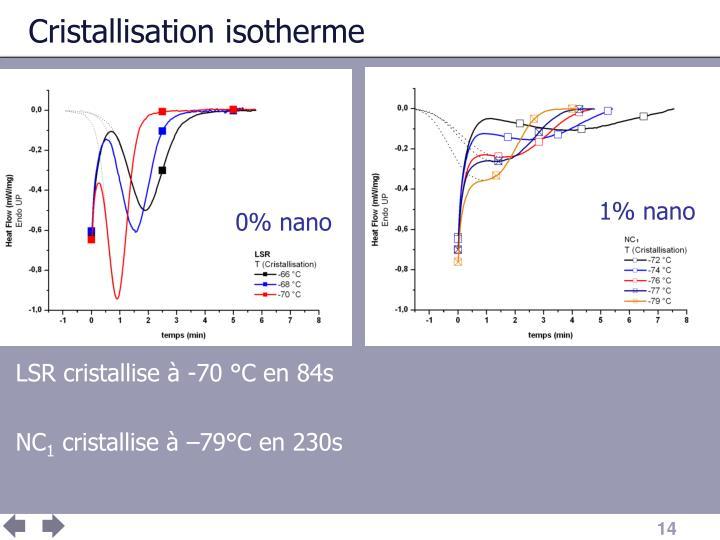 Cristallisation isotherme