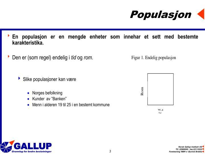 Populasjon
