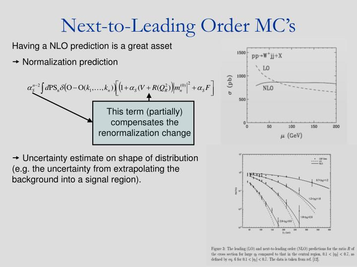 This term (partially) compensates the renormalization change