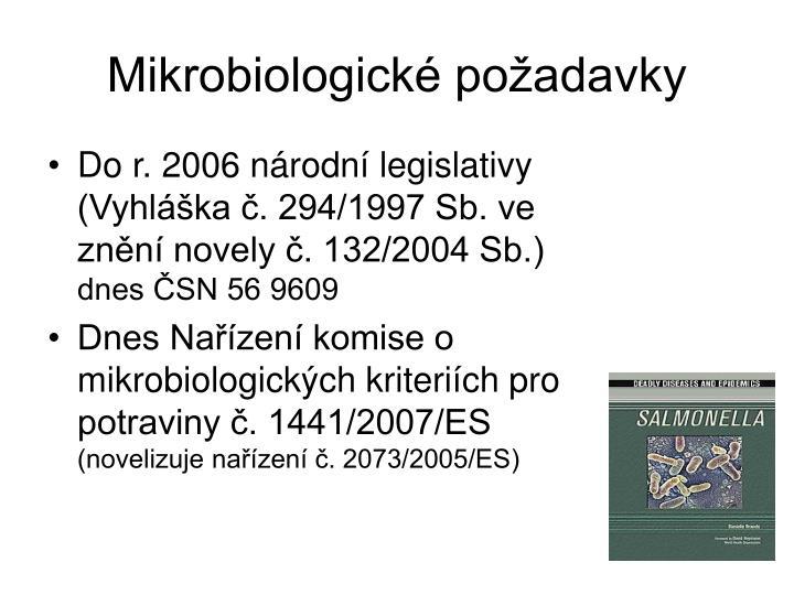 Mikrobiologick po adavky1