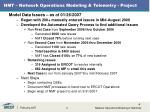 nmt network operations modeling telemetry project2