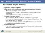 nmt network operations modeling telemetry project8
