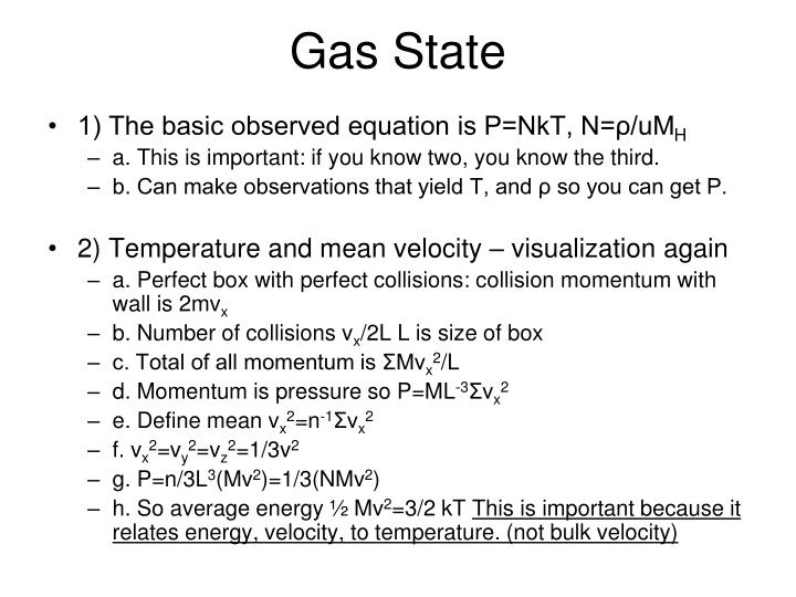 Gas State