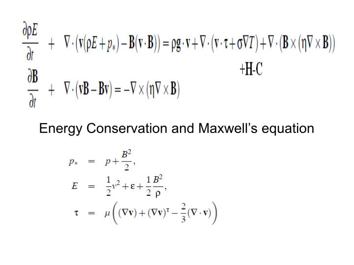 Energy Conservation and Maxwell's equation