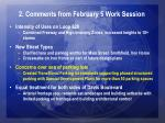 2 comments from february 5 work session2