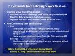 2 comments from february 5 work session6