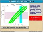 bbn limits on neutrino flavors