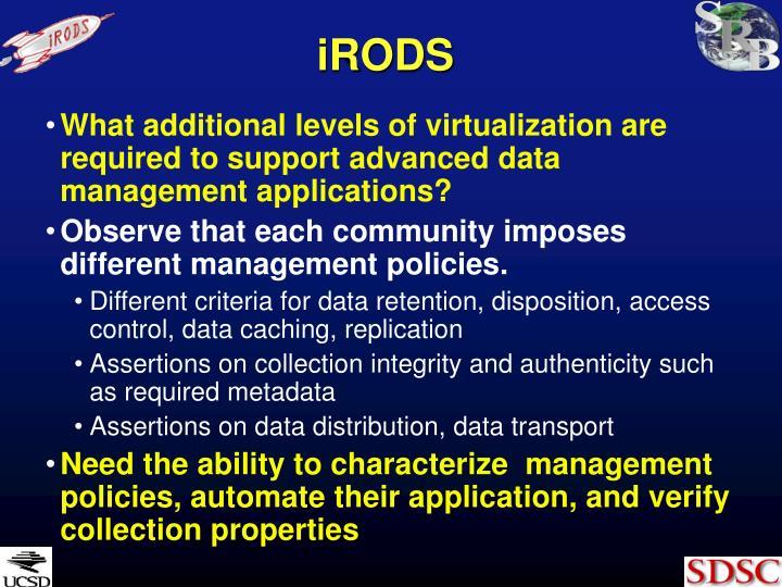 iRODS