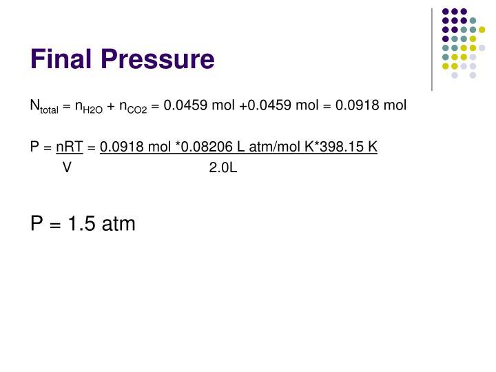 Final Pressure