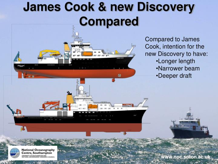 James Cook & new Discovery Compared