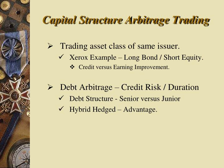 Capital Structure Arbitrage Trading