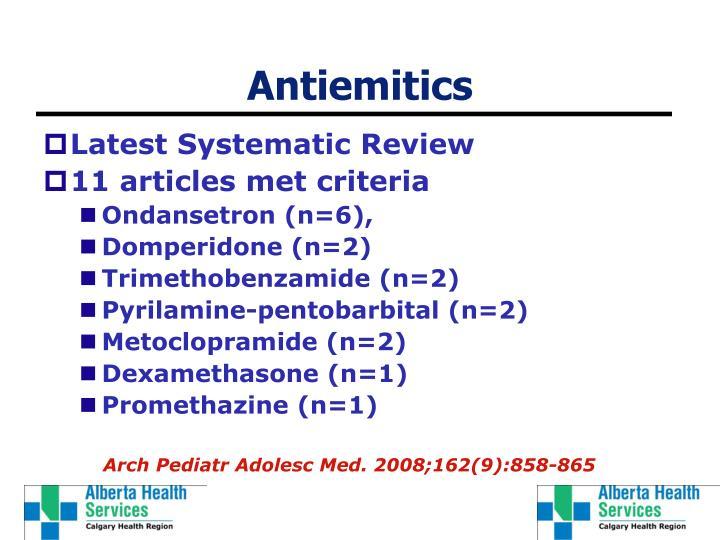 Antiemitics