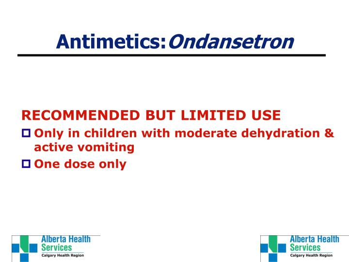 Antimetics: