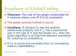 soundness of global caching2