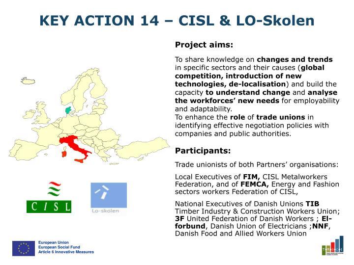 KEY ACTION 14 – CISL & LO-Skolen