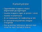 karbohydrater1