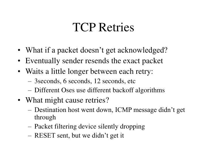 TCP Retries