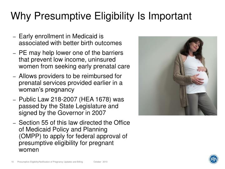 Why Presumptive Eligibility Is Important