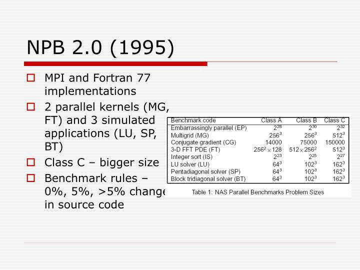 NPB 2.0 (1995)