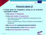 financial regime 2