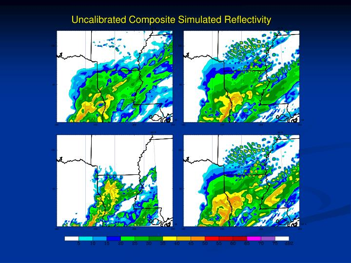 Uncalibrated Composite Simulated Reflectivity