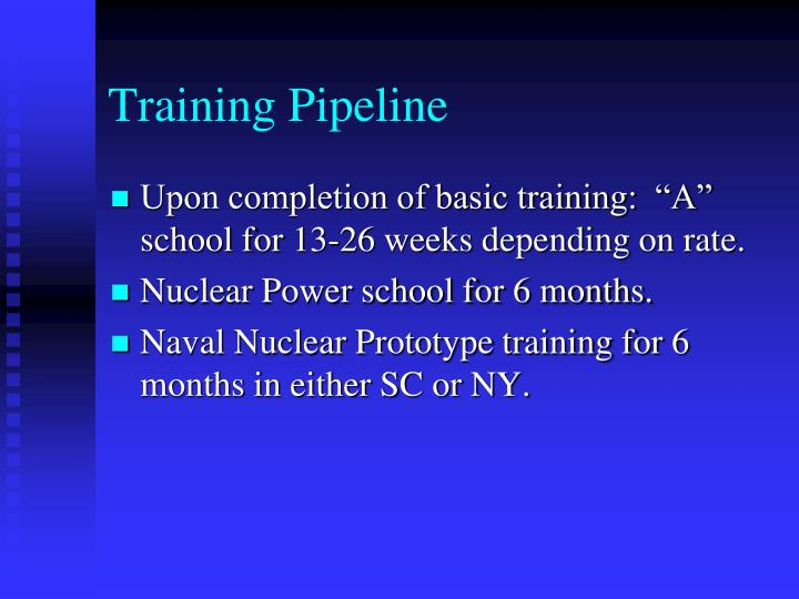 Training Pipeline