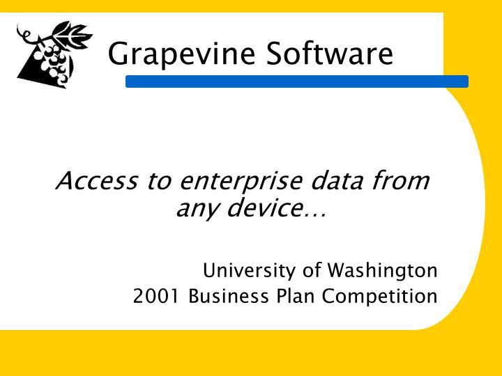 grapevine software