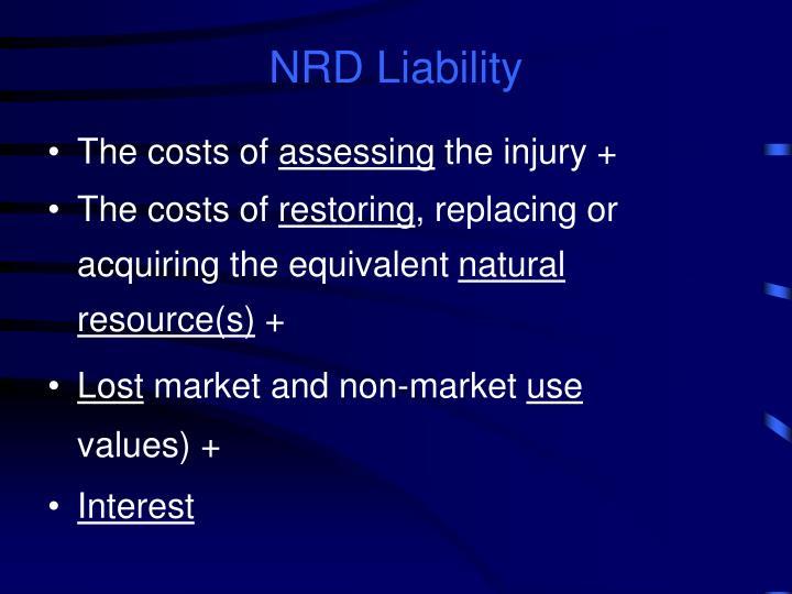 NRD Liability