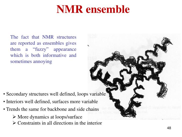 NMR ensemble