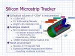 silicon microstrip tracker