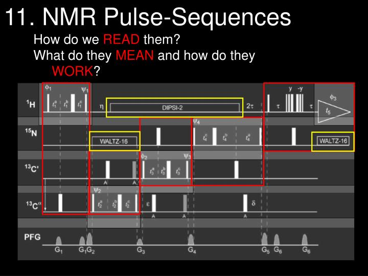 11. NMR Pulse-Sequences