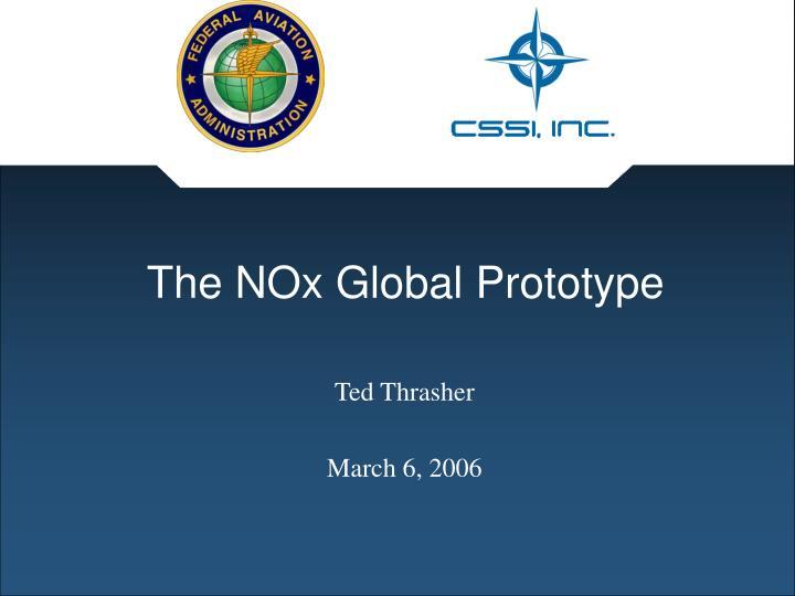 the nox global prototype n.