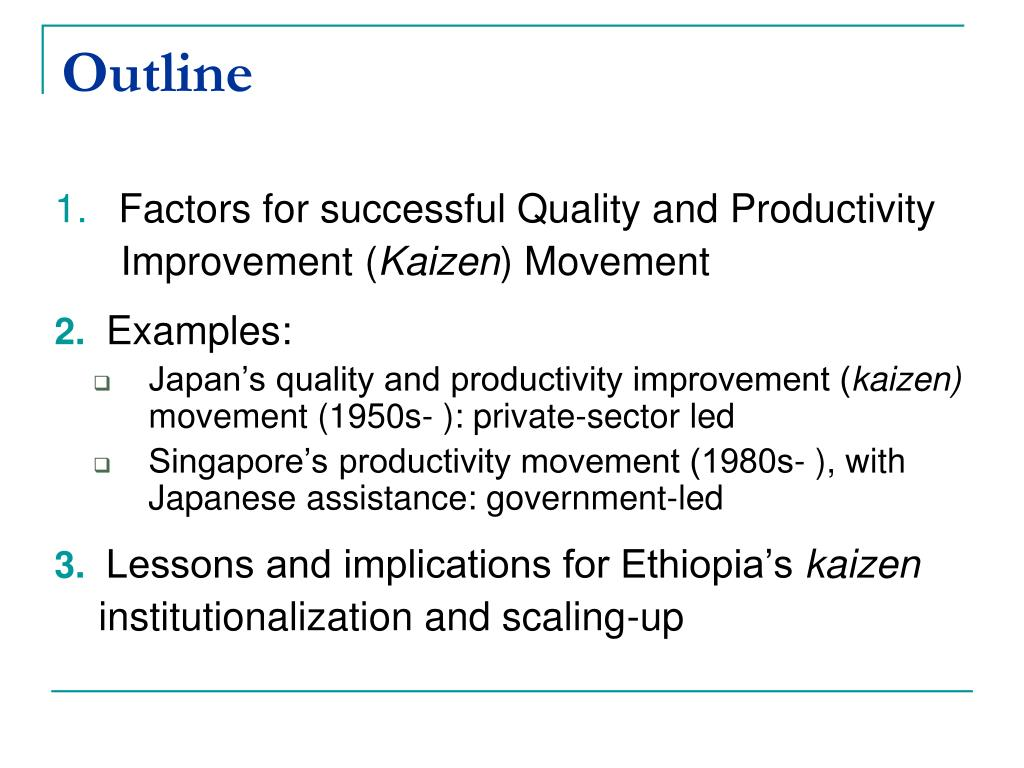 PPT - National Movement for Quality and Productivity