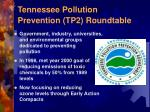 tennessee pollution prevention tp2 roundtable