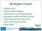 burlington cluster