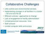 collaborative challenges