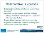 collaborative successes