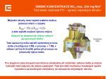 emisn koncentrace no x max 200 mg nm 3 technick mo nosti po pravy ml nsk ch okruh