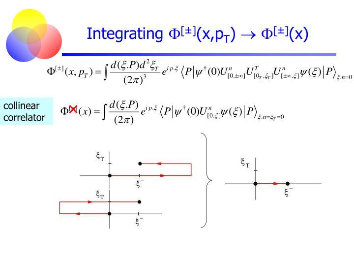 Integrating