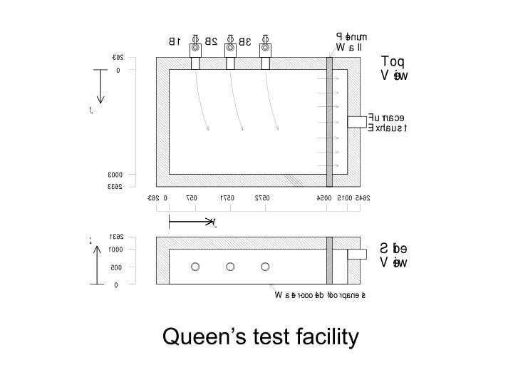 Queen's test facility