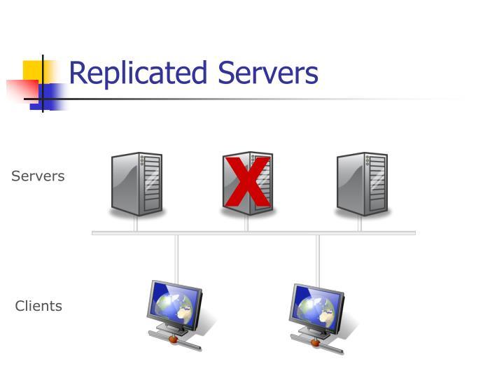 Replicated Servers