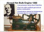 akroyd hot bulb engine 1890