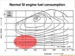 normal si engine fuel consumption
