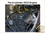 the 6 cylinder hcci engine