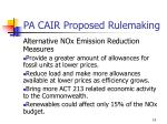 pa cair proposed rulemaking10