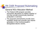 pa cair proposed rulemaking11