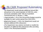 pa cair proposed rulemaking14