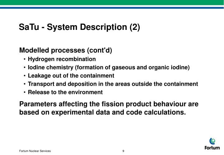 SaTu - System Description (2)