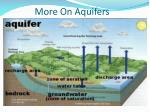 more on aquifers