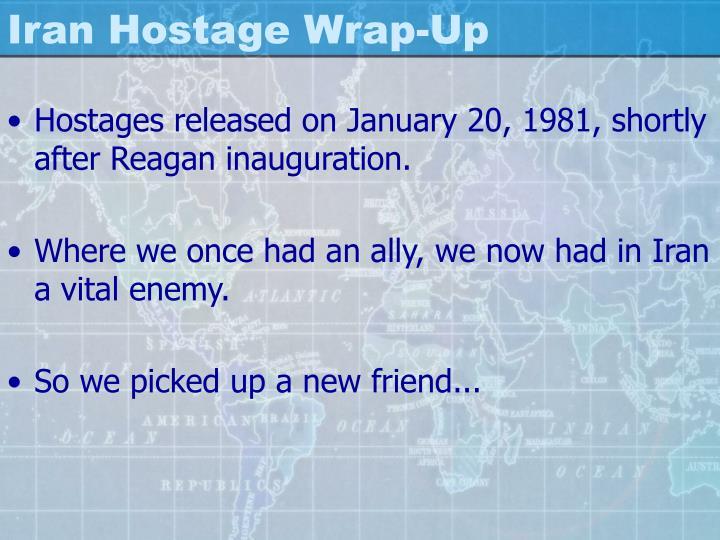 Iran Hostage Wrap-Up